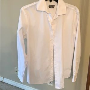Kenneth Cole Reaction Slim Fit white dress shirt